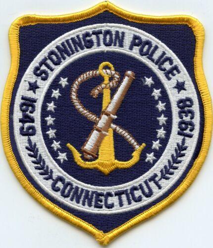 STONINGTON CONNECTICUT CT POLICE PATCH