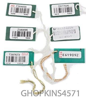 Genuine Rolex Hang Tag 6 pieces 16610 Sub 114270 18238 Pres 16570 Explorer II DJ