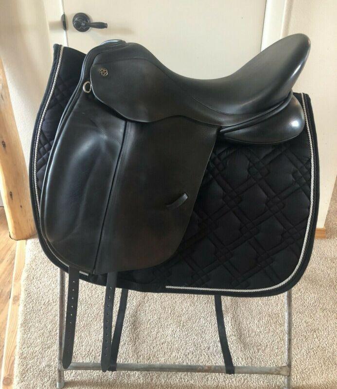 18.5 W Trilogy Verago Elite Dressage Saddle