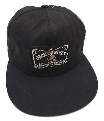 JACK DANIEL'S licensed vintage black adjustable cap / hat - Made in the USA!