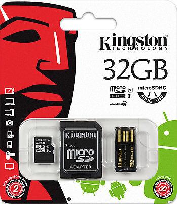 3-IN-1 USB STICK 32GB SPEICHERKARTE UND 32 GB MICRO SD SDHC CLASS 10 KARTE