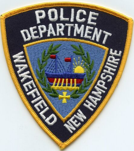 WAKEFIELD NEW HAMPSHIRE NH POLICE PATCH
