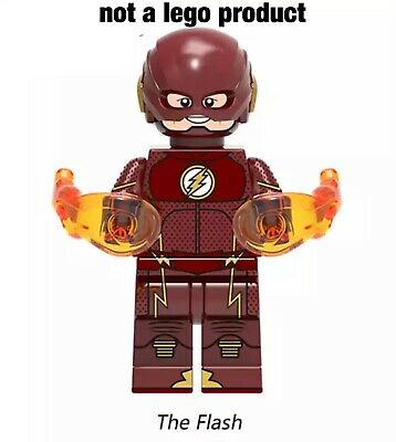 Custom Minifigure the Flash super hero USA seller