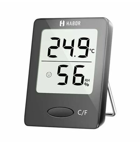 Habor Digital Hygrometer Indoor Thermometer Humidity Gauge I