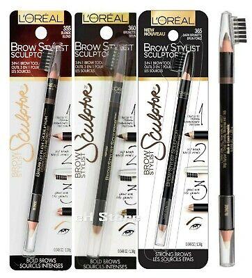 Loreal Eye Makeup Brow Stylist Eyebrow Defining  Pencil Sculptor ~ Choose -