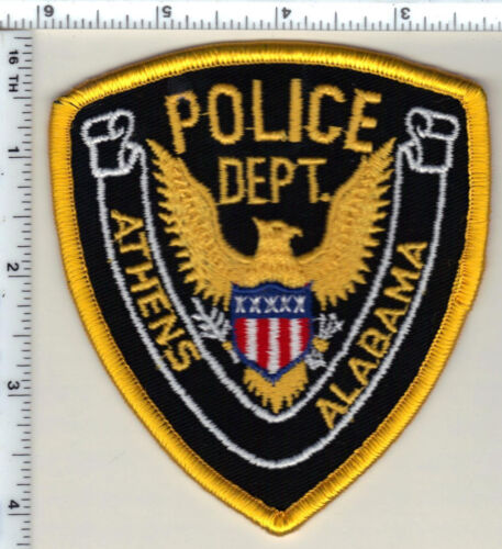 Athens Police (Alabama) Shoulder Patch - New from 1989