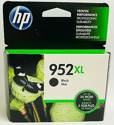 HP Genuine 952XL Blk Ink Cartridge Box For Officejet Pro 7720 7730 7740 8200  Hewlett Packard Box