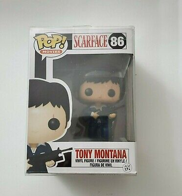 U.S SELLER Tony Montana SCARFACE Funko POP! #86 with soft pop protector