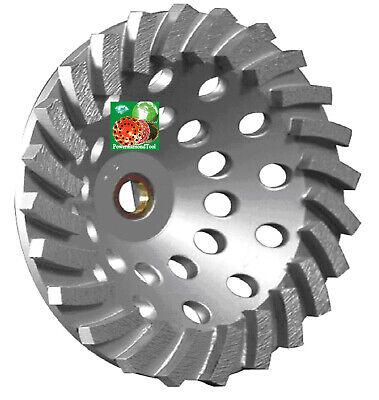 7 24 Seg Spiral Turbo Pro.diamond Cup Wheel Concrete Masonry Grinding 58-78
