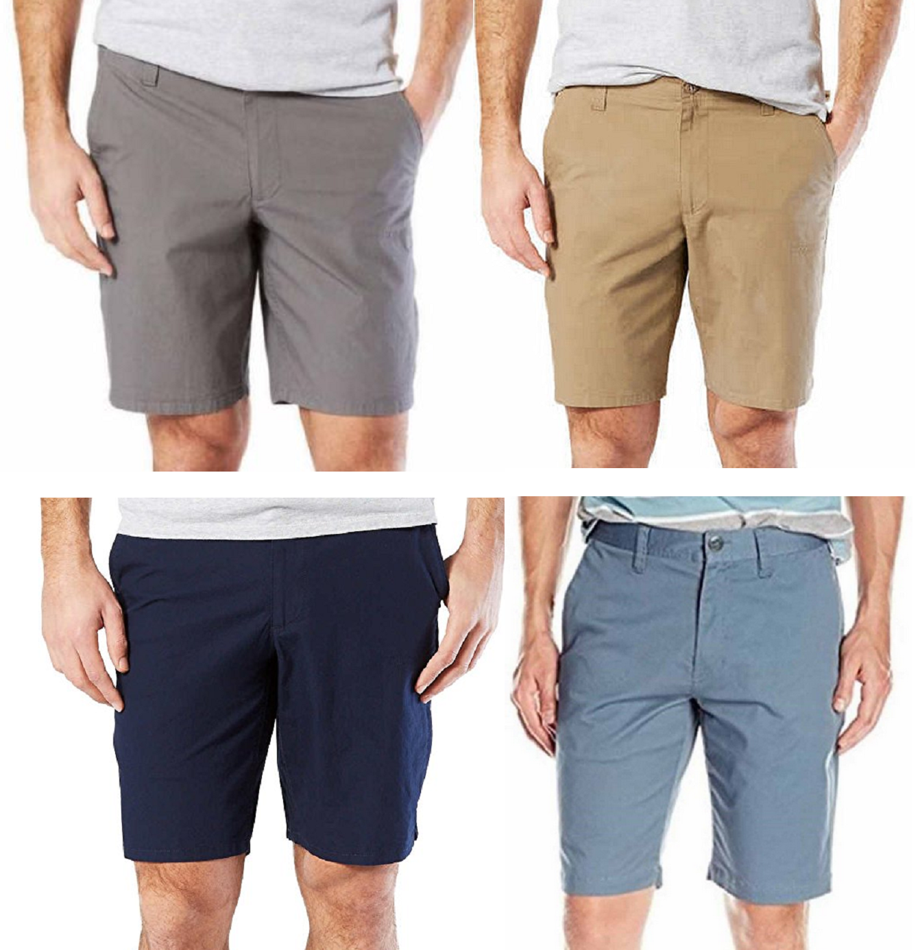 Dockers Men's comfort Straight Fit Stretch Utility Shorts