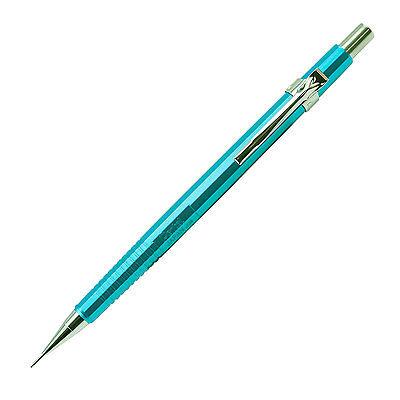Pentel Sharp Mechanical Pencil 0.7mm Drafting 4mm Fixed Sleeve Metallic Sky Blue