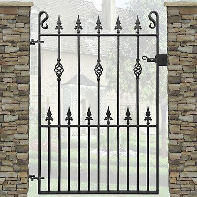 Spear Garden Gate Wrought Iron Metal Steel Gates | 3ft Opening | 4ft High