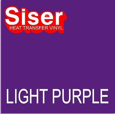 15 X 5 Ft Roll - Lt Purple - Siser Easyweed Heat Transfer Vinyl Iron On - Htv