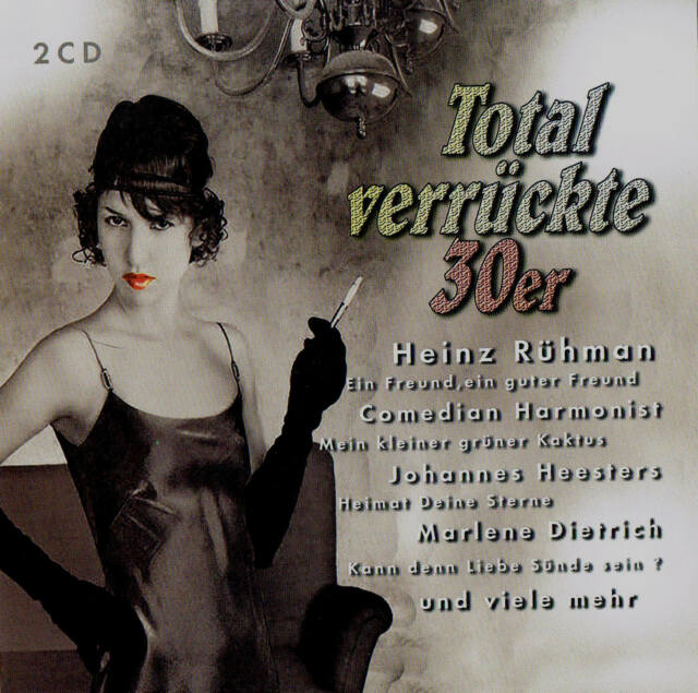 TOTAL VERRÜCKTE 30er 2 CD-Box Neu & OVP 78rpm Music 40 Tracks Reflex Media 2008