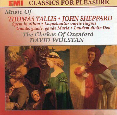 Music Of Thomas Tallis & John Sheppard - The Clerkes Of Oxenford CD (EMI, 1993)