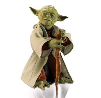 Yoda 16' Star Wars legendary brand new