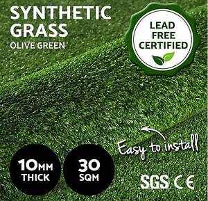 30 SQM Synthetic Artificial Grass Turf Plastic Olive Plant Lawn Adelaide CBD Adelaide City Preview