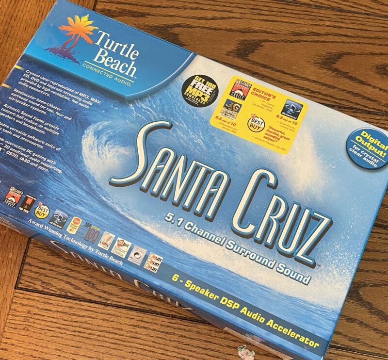 Turtle Beach Santa Cruz 5.1 Sound Card AS IS