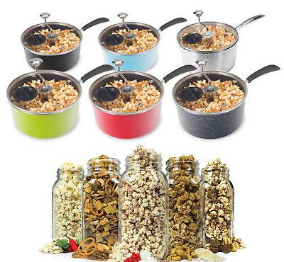 Stovetop Popcorn Popper Pan For Stove Top Pot