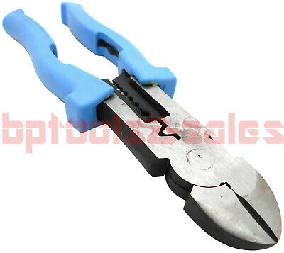 8 Electrical Crimping Pliers Multi-purpose Stripping Wirecable Cutter Plier