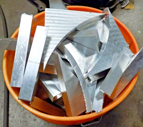 10 Lbs of CLEAN ASSORTED SCRAP ALUMINUM for PARTS Casting MELTING Machining ect.