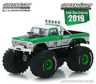 1:64 GreenLight *TRADE SHOW EXCLUSIVE* 1974 Ford F-250 Monster Truck *NIP*](Monster Craft)