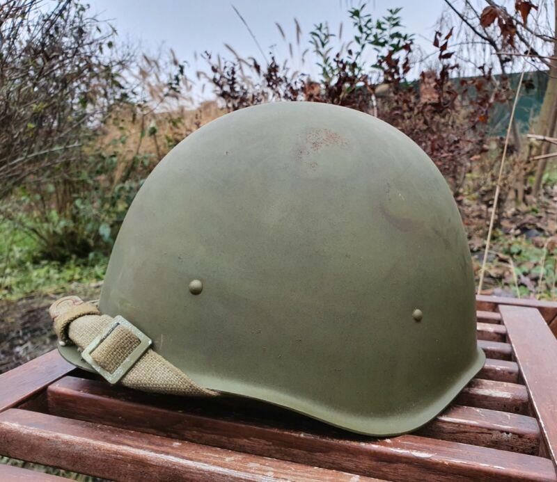 Original Steel Helmet SSh 40 WWII Russian Military Soviet Army Size 2 NEW