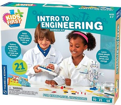 Intro to Engineering Science Kit Kids First Thames & Kosmos New in Box