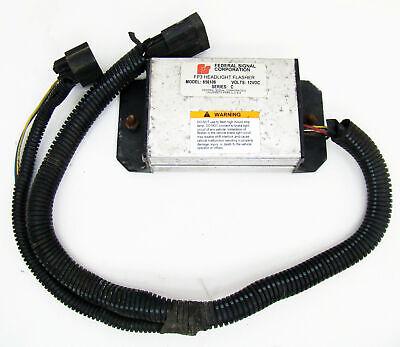 Federal Signal 06 Gm Chevy Impalatahoe Headlight Wig Wag Flasher Module 656106