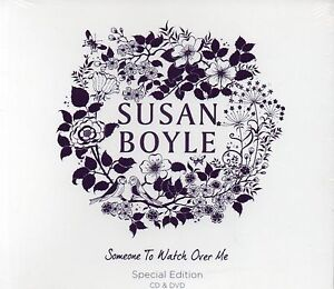 SUSAN BOYLE - SOMEONE TO WATCH OVER ME (Special Edition CD & DVD) NEW & SEALED
