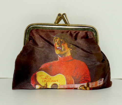 John Lennon vintage fabric coin purse