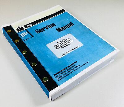Service Shop Repair Manual 584 674 684 International Farmall Tractor Workshop