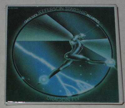 "1974 Jefferson Starship ""Dragonfly"" Album Pin 2"" x 2"""