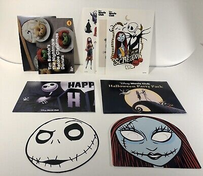 Before Halloween Party (NIGHTMARE BEFORE CHRISTMAS - Disney Movie Club Halloween Party Pack)