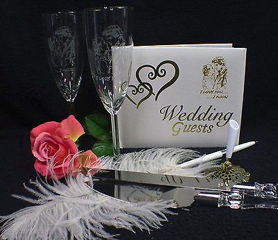 STAR WAR Han Solo Princess Wedding Theme Glasses Knife Guest Book Lot Halloween  - Princess Wedding Theme
