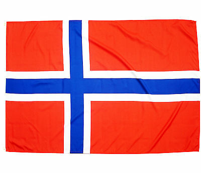 Fahne Norwegen Querformat 90 x 150 cm norwegische Hiss Flagge Nationalflagge