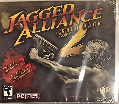 Jagged Alliance 2: Gold Pack Pc Brand New Jagged Alliance 2 Gold Pack