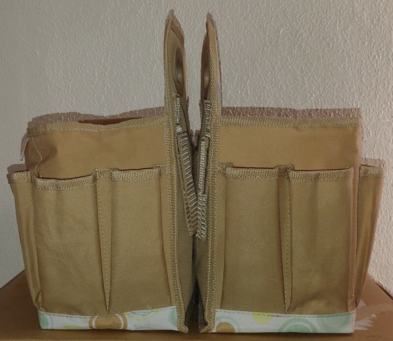 USED-DEFECTS Diaper Genie Caddy/Organizer For Babys Needs (Diapers, Wipes, Etc.)