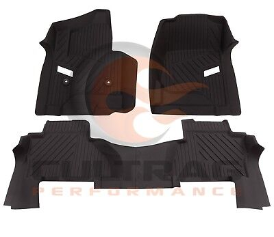 2015 2019 Cadillac Escalade GM Front  2nd Row All Weather Floor Liners Black