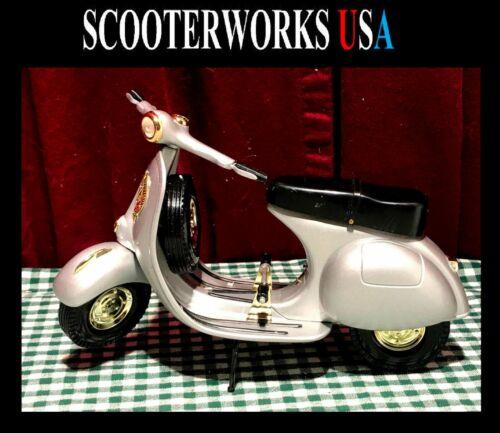 ScooterWork Vespa Sportique 1:6 scale die cast 50th. Anniversary Edition RARE