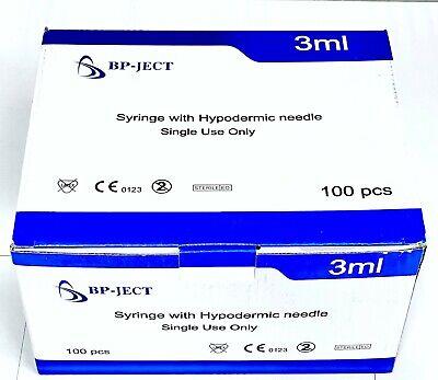 3 Ml Sryge 25g 58 In Needles 100 Bx