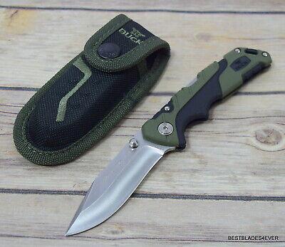 BUCK 661 FOLDING PURSUIT SMALL LOCK-BACK FOLDING KNIFE W/ SHEATH MADE IN USA