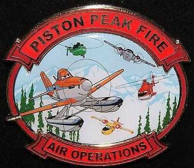 Disney Piston Peak Fire Air Operations Pin