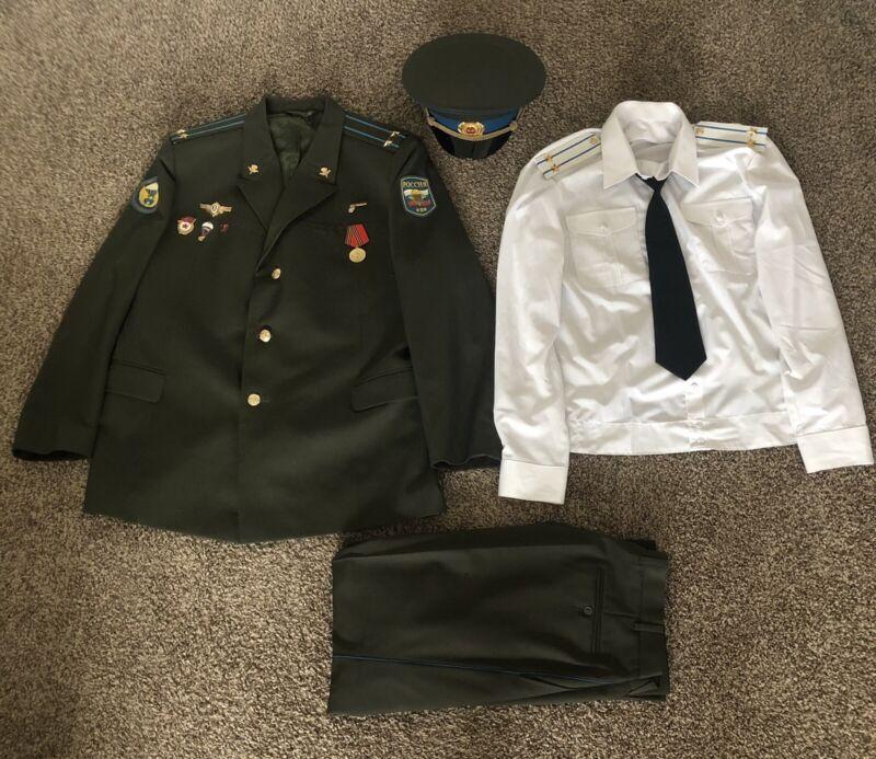 Russian Airborne VDV Lieutenant Colonel Full Uniform Set