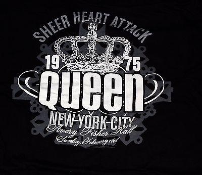 QUEEN Sheer Heart Attack 1975 NY City Retro Concert T-Shirt 2010 XXL Mercury May