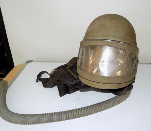 Vintage Steampunk Industrial Sandblast Helmet 3M Vader
