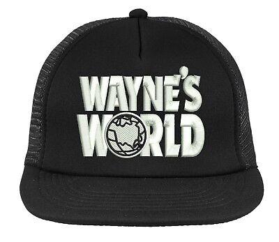 FREE S/H Wayne's World Halloween Costume Snapback Mesh Trucker Hat Cap - Wayne's World Hat Halloween