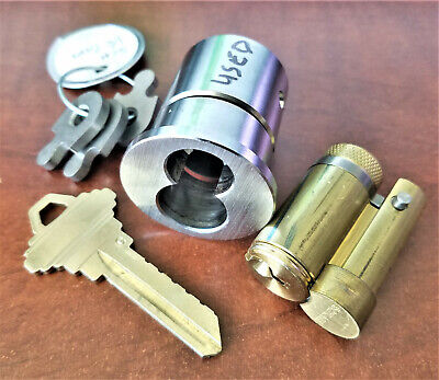 New Schlage Lfic Interchangeable Core- C Keyway- Chrome 626 Locksmith