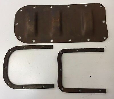 FORD MODEL T EARLY YEARS 3 DIP OIL PAN BOTTOM PAN & INSIDE PLATES FOR RESTORE for sale  Channing