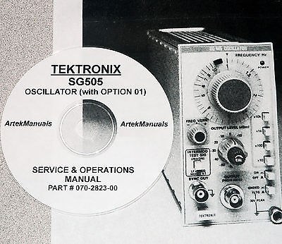 Tektronix Sg505 Opt 01 Instruction Manual Commercial